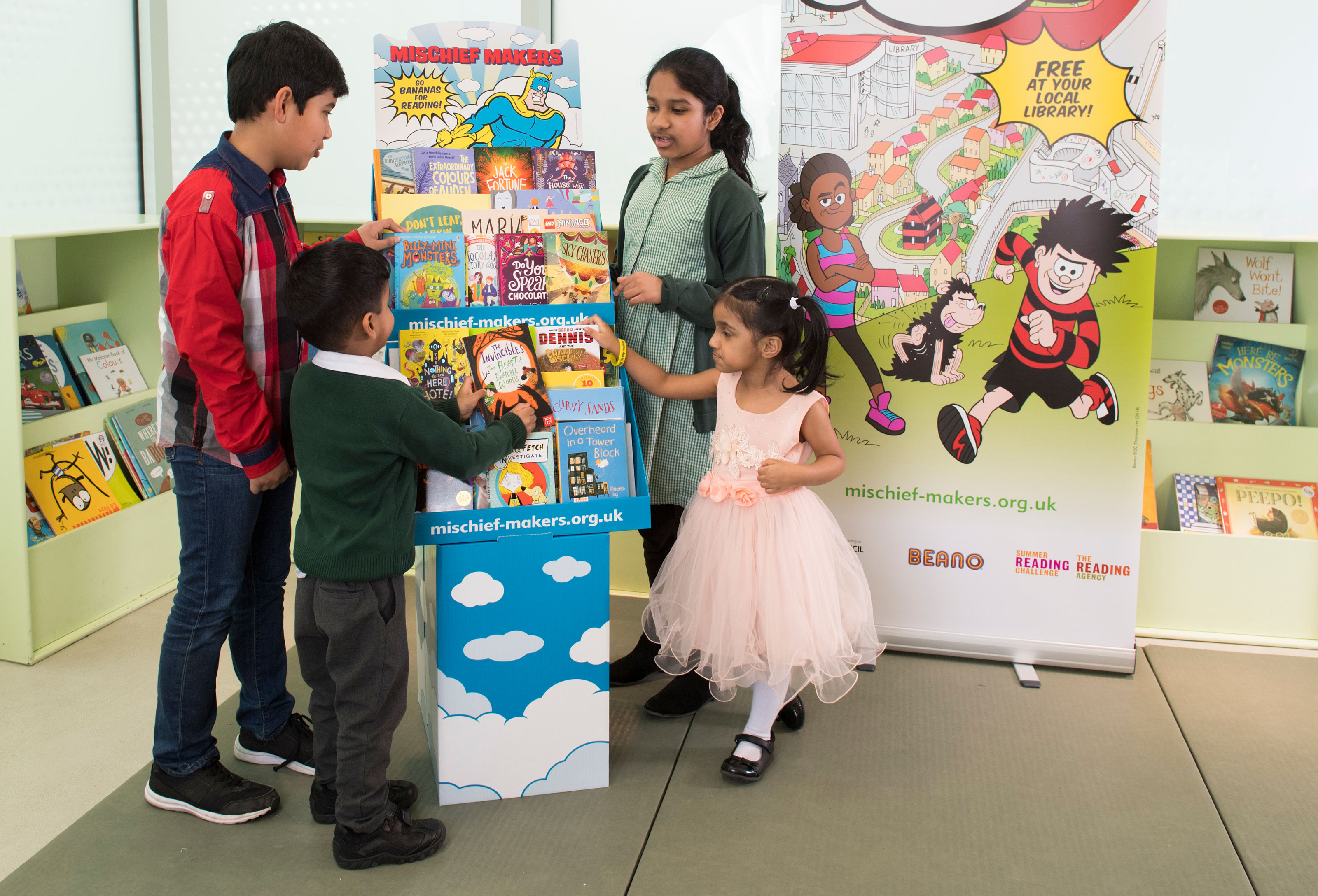Photos © Dale Cherry for The Reading Agency, with thanks to Idea Store Watney Market