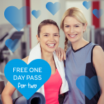 Valentine's Day: Free 1 day gym pass!