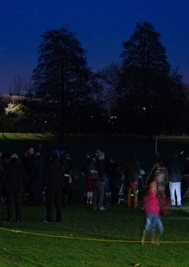 Stargazing at Alvaston Park