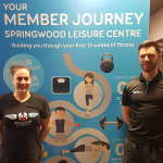 Sara's success at Springwood Leisure Centre