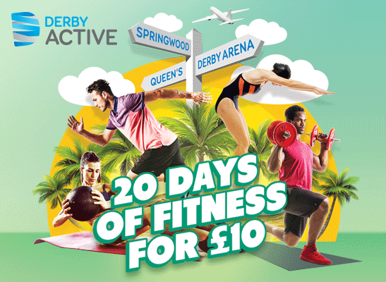 20 days of fitness for £10