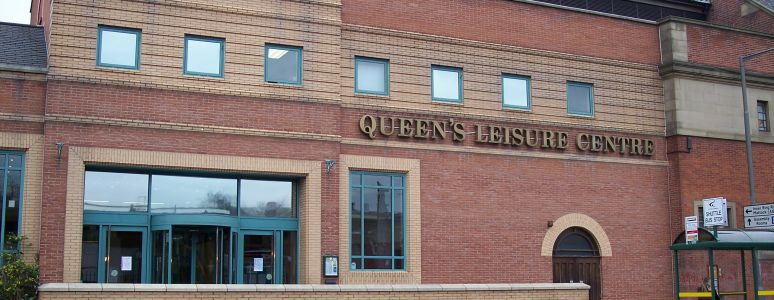 Queen's Leisure Centre exterior