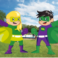 Superhero Picnic in the Park