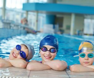 Image for link to Derby Active Learn to Swim Team say hello!