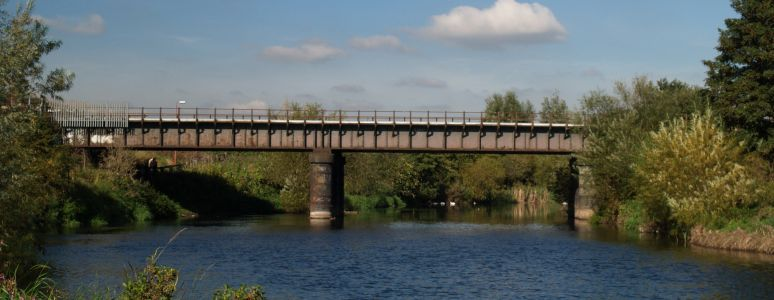 Alvaston Park, railway bridge