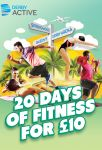 Image for 20 days of fitness for £10