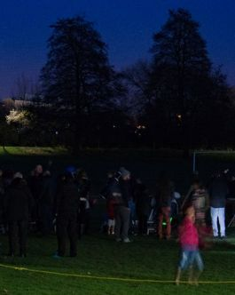 Stargazing on Alvaston Park