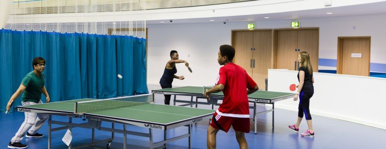 Drop in table tennis at Springwood Leisure Centre