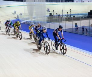 Image for link to Track cycling