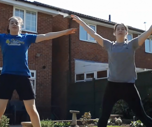 Image for link to Derby Active at Home - Gymnastics Beginners Workout