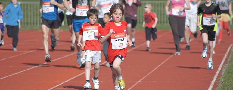 Sport Relief at Moorways Stadium
