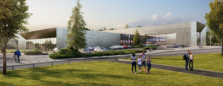 new swimming pool complex exterior image 1
