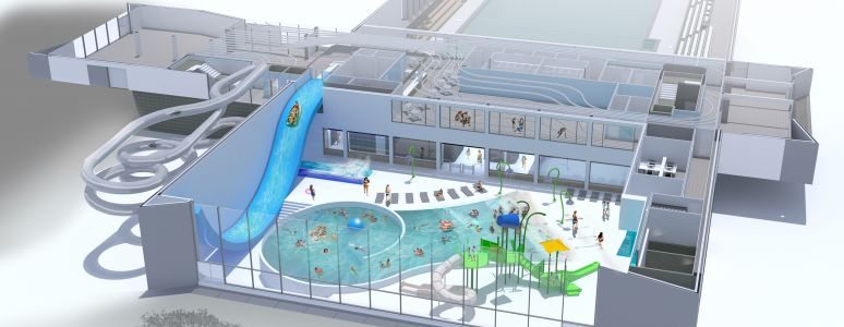 New swimming pool complex | In Derby