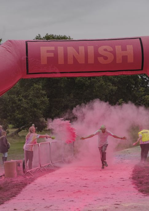 Derby & Burton Hospitals Colour Run