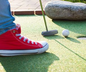 Image for link to Mini Golf at Markeaton Park