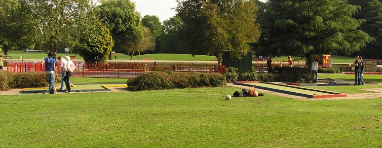 There's so much to explore at Markeaton Park
