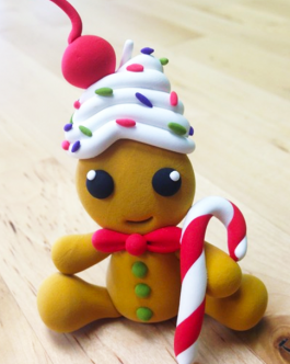 Christmas Crafts with Jumping Clay