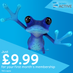 This Leap Year 'Leap into Fitness' for only £9.99