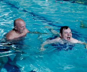 Image for link to Disability swimming