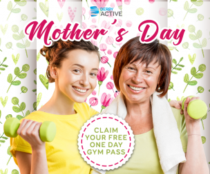 Image for link to Mother's Day - FREE 1 Day Gym Pass