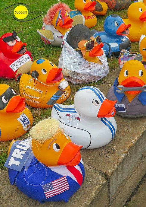 Ey Up Mi Duck Race