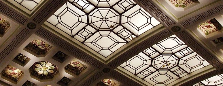 Guildhall Theatre ceiling