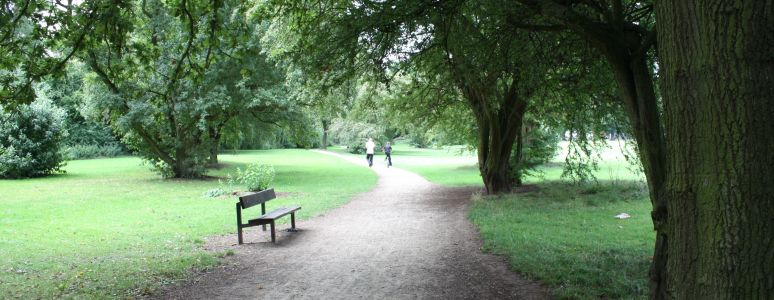 Have a walk or run around Chaddesden Park
