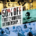 50% off 2 months Memberships in January