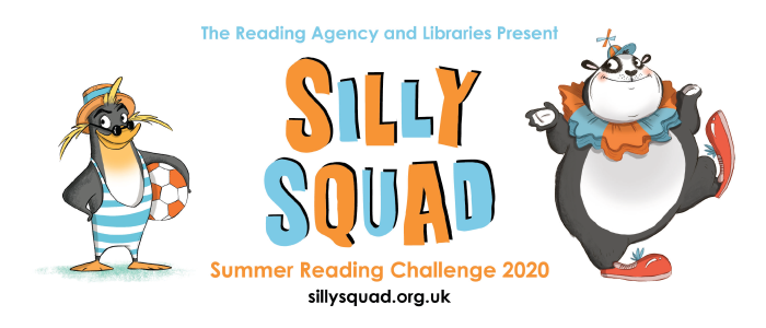 The Reading Agency and Libraries present Silly Squad Summer Reading Challenge 2020 - sillysquad.org.uk