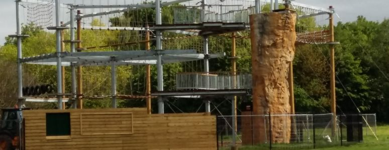 Closer to the Edge: High Ropes at Markeaton Park