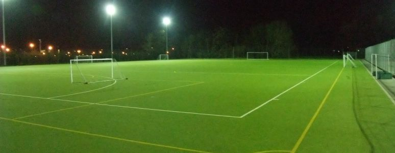 Football courts at Moorways
