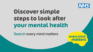 Discover simple steps to look after your mental heath. Search Every Mind Matters