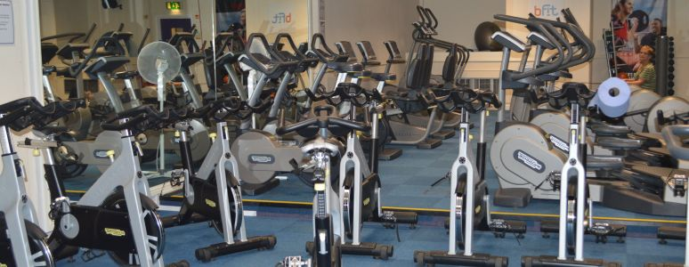 Gym at Queen's Leisure Centre