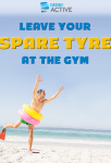 Image for Leave your spare tyre at the gym