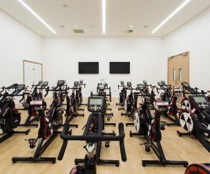 Wattbike and classes studios