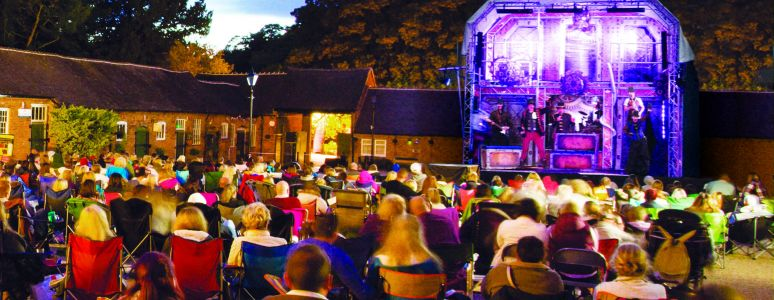 Outdoor theatre and cinema season