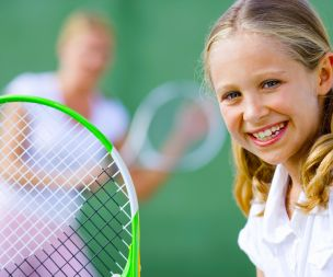 1/2 price racket sports during school holidays