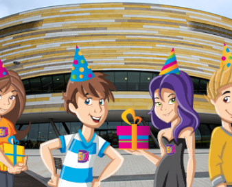 Birthday Parties at Derby Active